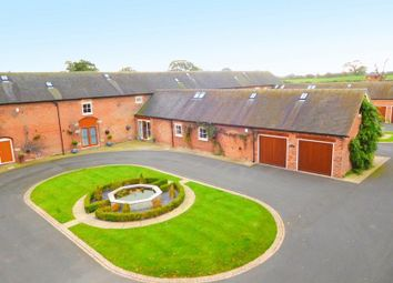 Thumbnail 4 bedroom barn conversion for sale in Deans Lane, Balterley, Crewe