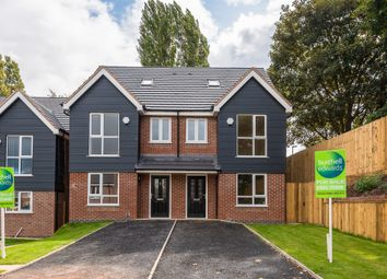 Thumbnail 3 bed town house for sale in Bower Lane, Rugeley