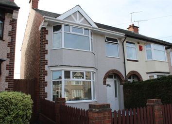 Thumbnail 3 bed end terrace house to rent in Glencoe Road, Coventry