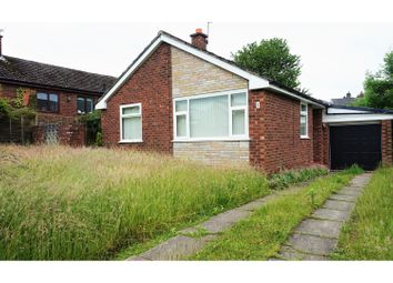 Thumbnail 2 bed detached bungalow for sale in Laburnum Avenue, Stalybridge