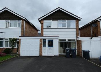 Thumbnail 3 bed detached house for sale in Silverlands Close, Hall Green, Birmingham