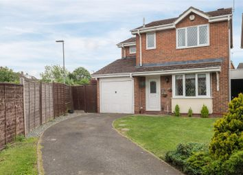 Thumbnail 3 bed detached house for sale in Barley Close, Glenfield, Leicester