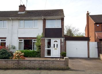Thumbnail 3 bed semi-detached house for sale in Laurel Road, Thorpe St Andrew, Norwich