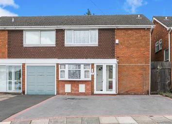 Thumbnail 3 bed semi-detached house for sale in Hilltop Drive, Hodge Hill, Birmingham, West Midlands