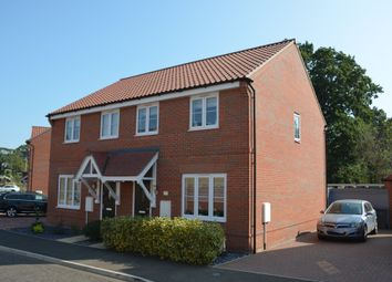 Woodlands Avenue, Trimley St. Mary, Felixstowe IP11. 3 bed semi-detached house for sale