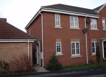 Thumbnail 3 bed end terrace house to rent in Sargeson Road, Armthorpe, Doncaster, South Yorkshire