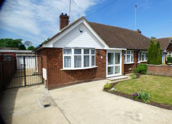 Thumbnail 2 bed semi-detached bungalow to rent in Cloisters Road, Luton