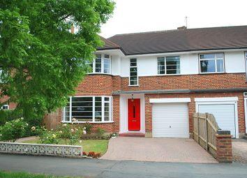 Thumbnail 4 bedroom semi-detached house to rent in Thistledene, Thames Ditton