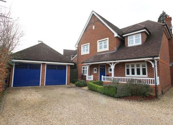 Thumbnail 4 bed detached house for sale in Andover Drive, Fleet
