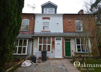 Thumbnail 4 bed terraced house for sale in Holly Grove, Hubert Road, Birmingham, West Midlands.