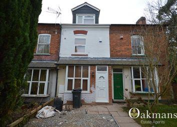 Thumbnail 4 bedroom terraced house for sale in Holly Grove, Hubert Road, Birmingham, West Midlands.