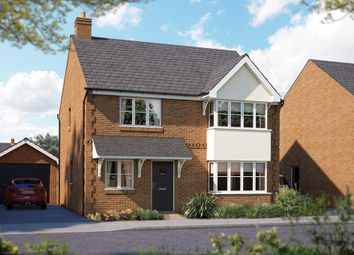 "Thumbnail 4 bed detached house for sale in ""The Canterbury"" at Brook Street, Aston Clinton, Aylesbury"