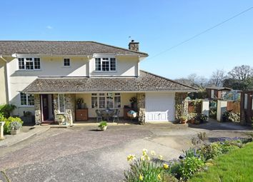 Thumbnail 4 bed semi-detached house for sale in Hennock, Bovey Tracey, Newton Abbot