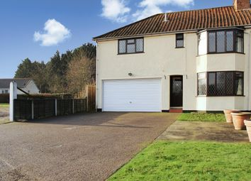Thumbnail 4 bed semi-detached house to rent in Abbotts Lane, Eight Ash Green, Colchester