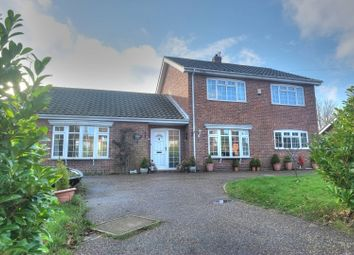 Thumbnail 4 bed detached house for sale in Orchard Drive, Great Yarmouth