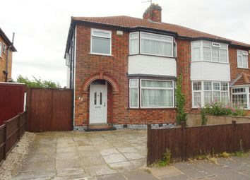 Thumbnail 3 bed semi-detached house for sale in Glendon Street, Leicester