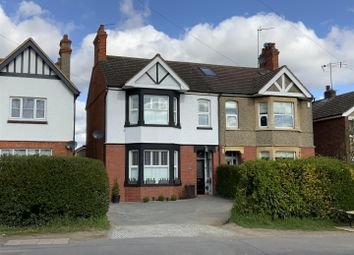 Thumbnail 3 bed semi-detached house for sale in Hill View, Newport Pagnell