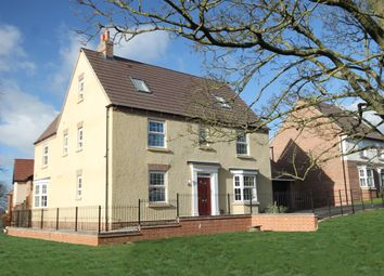 "Thumbnail 5 bedroom detached house for sale in ""Moorecroft"" at Welbeck Avenue, Burbage, Hinckley"