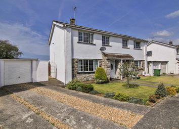 Thumbnail 3 bed semi-detached house for sale in Brookside, Treoes, Bridgend