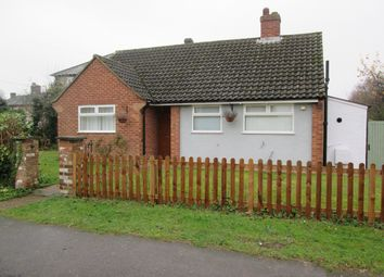 Thumbnail 2 bedroom bungalow to rent in Lower Gower Road, Royston