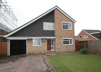 Thumbnail 4 bed detached house to rent in Coach Road, Ottershaw, Chertsey