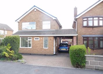 Thumbnail 3 bed detached house to rent in Dovedale Crescent, Belper, Derbyshire