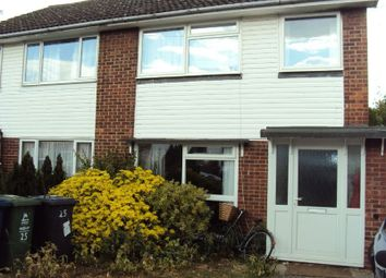 Thumbnail 3 bedroom semi-detached house to rent in Badminton Close, Cambridge