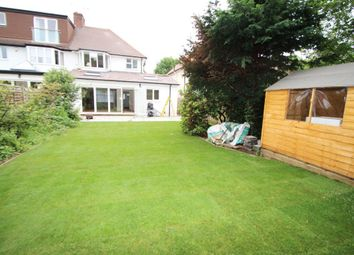Thumbnail 4 bed semi-detached house to rent in Dickerage Road, New Malden, Surrey