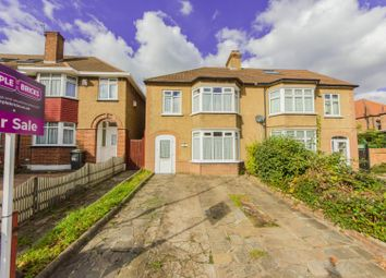 Thumbnail 3 bed semi-detached house for sale in Woolstone Road, London