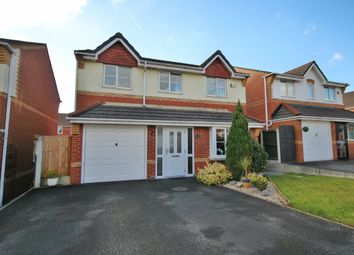 Thumbnail 4 bed detached house for sale in Wharton Hall Close, Tyldesley, Manchester