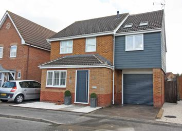 Thumbnail 3 bed detached house for sale in Longford Way, Didcot