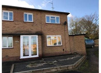 Thumbnail 3 bed end terrace house for sale in Barnfield Close, Stone