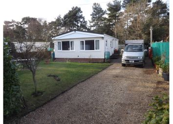 Thumbnail 2 bed mobile/park home for sale in Red House Park, Bordon