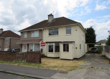 Thumbnail 3 bed semi-detached house for sale in Ravenglass Crescent, Southmead, Bristol