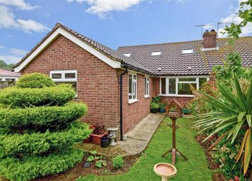 Thumbnail 4 bedroom semi-detached bungalow for sale in Manor Close, Lancing, West Sussex