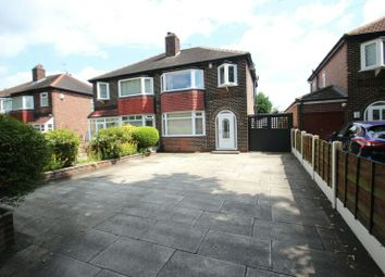 Thumbnail 3 bedroom semi-detached house for sale in Manor Avenue, Sale