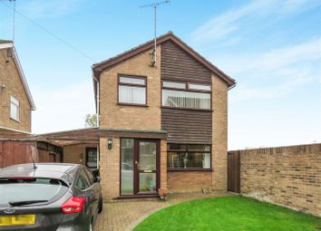 Thumbnail 3 bed detached house for sale in Coppins Close, Sawtry, Huntingdon