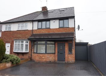 Thumbnail 4 bed semi-detached house for sale in Havencrest Drive, Leicester