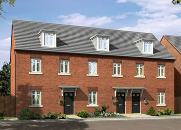 "Thumbnail 3 bedroom terraced house for sale in ""Nugent"" at Fen Street, Brooklands, Milton Keynes"