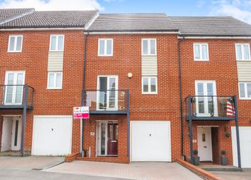 Thumbnail 4 bed town house for sale in Wellstead Way, Hedge End, Southampton