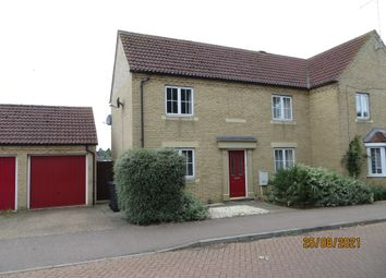 Thumbnail 3 bed semi-detached house to rent in Carey Close, Ely