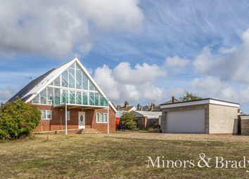 Thumbnail 5 bed detached house for sale in Beach Road, Kessingland, Lowestoft