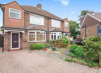 Thumbnail 3 bed semi-detached house for sale in Manor Crescent, Guildford