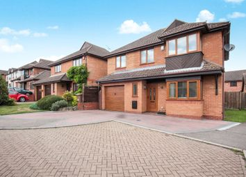 Thumbnail 5 bed detached house for sale in Charndon Close, Luton