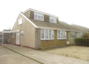 Thumbnail 3 bed semi-detached bungalow to rent in Bellcroft Road, Thorngumbald, Hull