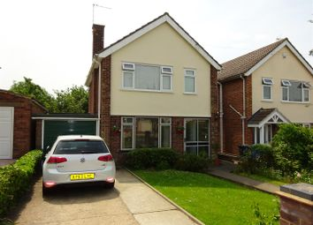 Thumbnail 3 bed detached house for sale in Larchcroft Road, Ipswich