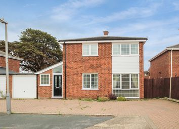Thumbnail 3 bed detached house for sale in Hexham Close, Ipswich