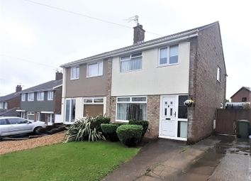 Thumbnail Semi-detached house for sale in Carlton Crescent, Beddau, Pontypridd