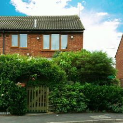 Thumbnail 1 bed semi-detached house for sale in Brackenfield Way, Thurmaston