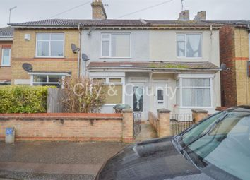 Thumbnail 2 bed terraced house for sale in Belsize Avenue, Peterborough